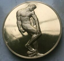 "Franklin Mint Rodin ""Gates of Hell"" Large Bronze Medal - Proof"