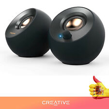 CREATIVE PEBBLE 2.0 V.2 SPEAKER USB (BLACK) PC/ MAC USB-C