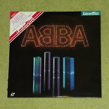 ABBA Live In Concert - RARE 1982 JAPAN FIRST PRESS LASERDISC + OBI (MP066-15TV)