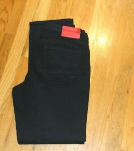 VALENTINO RED LABEL JEANS RED SIZE 36X34 MADE IN ITALY HEMMOND SPA