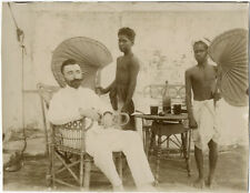 Photo Anonyme Coloni Colonial Madagascar ? Vers 1900