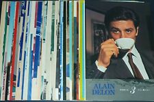 Lot of 52 ALAIN DELON 1950s/1960s Vintage JPN Japan Picture Clippings