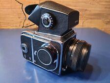 Kiev 88 + prisme TTL + obj. Volna 80mm f/2,8 app. Reflex moyen-format no rollei