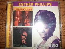 Esther Phillips-Burnin/Confessin The Blues-1998 Collectables!
