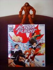 "Amazon Marvel Legends Series 6"" 6 Pack Alpha Flight & Sasquatch BAF Figure Set"