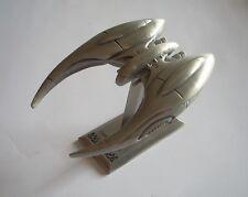 Battlestar Galactica Cylon Raider 2006 SDCC SCI FI Exclusive Pewter Metal Ship
