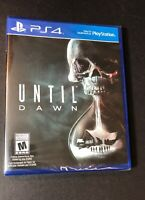 Until Dawn [ First Print ] (PS4) NEW