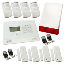 Sentry Pro Touch Screen Wireless Intruder Burglar Home Alarm White Solution 3