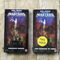 2002 He Man and the Masters Of The Universe VHS Cassette Tapes - Mattel - He-Man