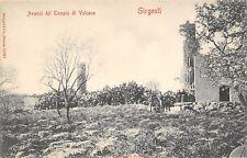 6551) GIRGENTI (AGRIGENTO) AVANZI DEL TEMPIO DI VULCANO. ANIMATA.