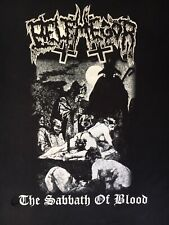 BELPHEGOR Shirt Sabbath Of Blood Double Sided Demon Extreme Metal Black Death XL