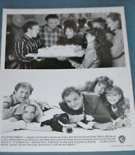"""Publicity Photo  from 1990's TV Show """"Life Goes On""""  8X10 B&W with 2 photos"""