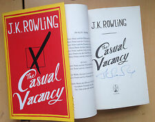J.K. Rowling,The Casual Vacancy Hardback 1st/1st HOLOGRAM SIGNED NEW