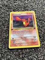 1st Edition Pokemon card Charmander 50/82 - Team Rocket set Rare