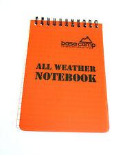 Impermeable Notebook, Outdoor, Camping, excursiones, senderismo, seguridad, Bog Out