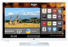 Bush 24 Inch HD Ready 720p Freeview PlaySmart LED WiFi TV/DVD Combi- White