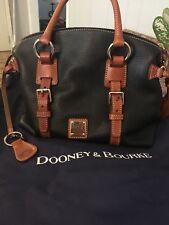 DOONEY & BOURKE LEATHER SATCHEL BAG