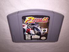 F1 Pole Position 64 (Nintendo N64) Game Cartridge Excellent!