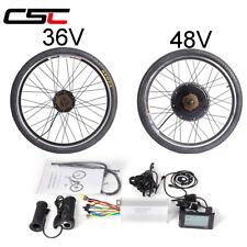 36V 48V 250W-1500W bicicletta elettrica Kit di conversione per Motore Bici Ruota 20-29in