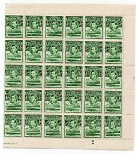 BASUTOLAND  KGVI 1/2d *** WHOLE SHEET of SIXTY STAMPS ***
