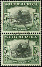 South Africa Scott #66 Vertical  Pair  Used