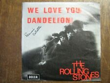 THE ROLLING STONES 45 TOURS BELGIQUE WE LOVE YOU