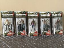The Walking Dead McFarlane Action Figure set - Series 3 COMPLETE *Rare*