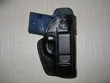Sig Sauer P938, IWB, right hand, FORMED leather holster WITH SWEAT SHIELD