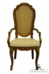 THOMASVILLE FURNITURE Place Vendome Collection French Provincial Cane Back Di...