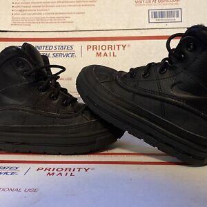 Nike ACG Woodside Black Boys Toddler Kids Size 11C Winter 524873-001 Nike Boots
