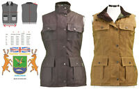 Hunter Outdoor Aviemore Fitted Wax Gilet New Waxed Cotton Gilet