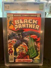 BLACK PANTHER #4 7/1977 JACK KIRBY!! CGC 9.2!!