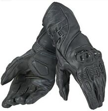 Dainese Veloce Gloves Black Leather Mens Motorbike Motorcycle Gloves S - L NEW