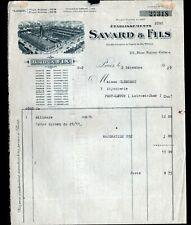 """PARIS (III°) BIJOUTERIE / BIJOUX FIX """"SAVARD & FILS"""" en 1930"""