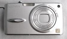 Panasonic LUMIX DMC-FX01 6.0MP Digital Compact Camera Video Silver GOOD - TESTED
