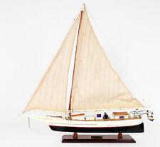 """Chesapeake Bay Skipjack Skip Jack Wooden Model 29"""" Maryland Oyster Dredging Boat"""