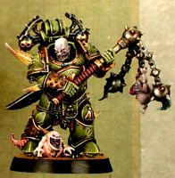 Heroes Death Guard Flail Plague Marine Scabboth Warhammer 40K Nurgle Space Chaos