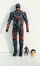 "DC Multiverse Legends Of Tomorrow THE ATOM 6"" Action Figure + Head & Mini Atom"