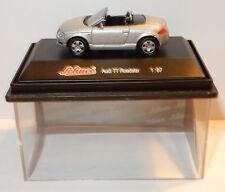 Raro Schuco Porsche Boxster Cabriolet negra Ho 1/87 en Box