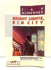BRIGHT LIGHTS, BIG CITY, inscribed 1st edition Vintage paperback