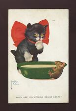 Cat Posted Single Collectable Animal Postcards