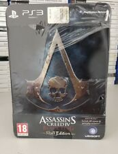 ASSASSIN'S CREED 4 IV BLACK FLAG SKULL EDITION PS3 NUOVO ITALIANO PLAYSTATION 3