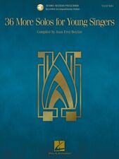 36 More Solos for Young Singers Vocal Collection Book and Audio 000230109