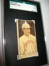 1912 T207 George Tyler SGC 10 ~Anonymous Back ~Boston NL.