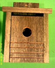 New,(Weathered Fence Wood),N E W ,Blue Bird House,(Your Buying 1)