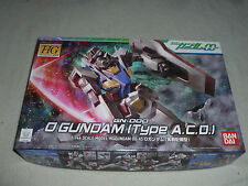 New In Box Gn-000 O Gundam Type A.C.D. Action Figure Model Kit Hg Ban Dai 2009