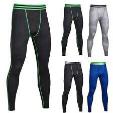 Mens Compression Pants Gym Running Sports Workout Jogging Base Layer Leggings XL