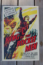 King of the Rocket Men Lobby Card Movie Poster Tristram Coffin