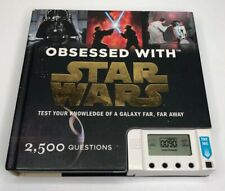 Obsessed with STAR WARS Test Your Knowledge 2008 ELECTRONIC TRIVIA Book