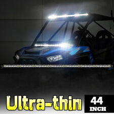 "2100W 6D 44Inch Single Row LED Light Bar Combo Beam LED Driving 4WD Truck 40""42"""